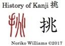 History of Kanji 挑