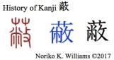 History of Kanji 蔽