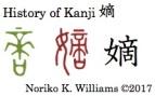 History of Kanji 嫡