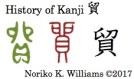 History of Kanji 貿