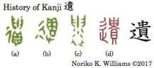 History of Kanji 遺