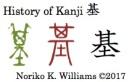 History of Kanji 基