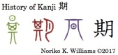 History of Kanji 期