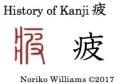 History of Kanji 疲