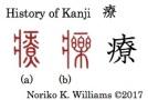 History of Kanji 療