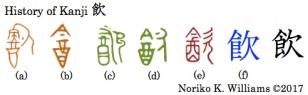 History of Kanji 飲