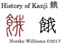History of Kanji 餓