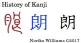 History of Kanji 朗
