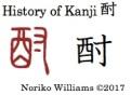 History of Kanji 酎