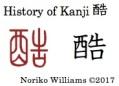 History of Kanji 酷