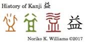 History of Kanji 益