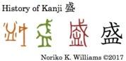 History of Kanji 盛