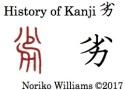 History of Kanji 劣