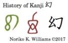 History of Kanji 幻