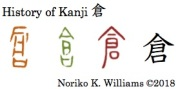 History of Kanji 倉