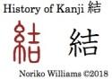History of Kanji 結