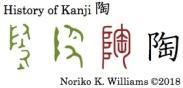 History of Kanji 陶