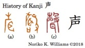 History of Kanji 声