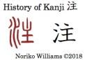 History of Kanji 注