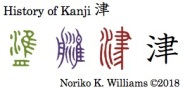 History of Kanji 津