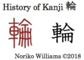 History of Kanji 輪