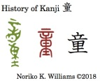 History of Kanji 童