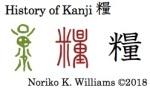 History of Kanji 糧