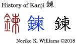 HIstory of Kanji 錬