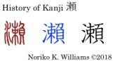 History of Kanji 瀬