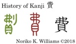 History of Kanji 費