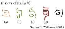 History of Kanji 句