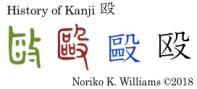 History of Kanji 殴