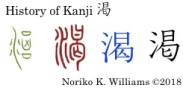 History of Kanji 渇