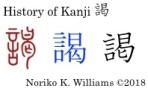 History of Kanji 謁